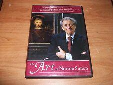 The Art Of Norton Simon (DVD 1998) True-Life Story Premier Art Collections