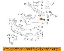 Pontiac GM OEM 03-05 Sunfire-Bumper Scuff Guard Left 22710661