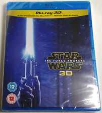 STAR WARS: THE FORCE AWAKENS Brand New 3D (and 2D) BLU-RAY Set Episode VII 7