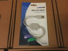 PS/2 Keyboard/Mouse to USB Converter Adapter