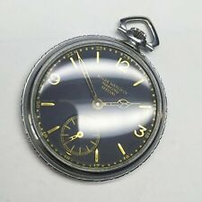 ROLEX MARCONI Pocket Watch FULLY serviced great condition Black