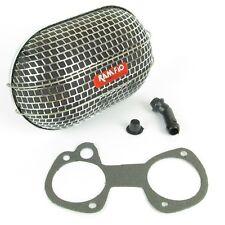 Weber/Dellorto/Solex DCOE/DHLA/ADDHE Carburador ramflo Filtro de aire