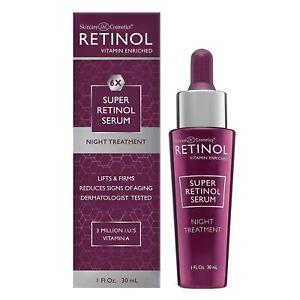 Skincare L De L Cosmetics® Retinol 1.0 oz. 6XSuper Retinol Serum Night Treatment