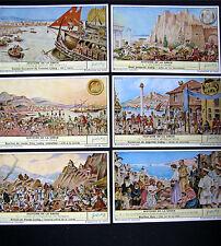 CHROMOS  LIEBIG -Trade card SERIE DE 6 - Histoire de La Grece