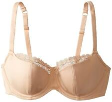 Cleo Women's Juna Balconnet Full Cup Plain Everyday Bra,Beige(Nude), UK32D/EU70D