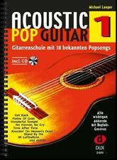 Acoustic Pop Guitar Band 1 von Michael Langer (2004, Broschüre)