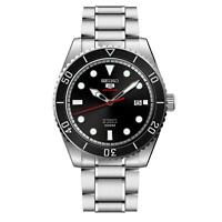 Seiko 5 SRPB91K1 Sports Stainless Steel Black Dial Automatic Mens Watch £229