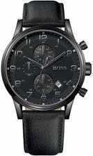 Men's Hugo Boss Blackout Chronograph Watch 1512567