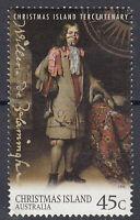 Australien Briefmarke gestempelt 45c Christmas Island Tercentanary / 125
