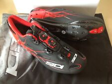 Sidi Shot Rennrad Schuh schwarz rot größe 41,5