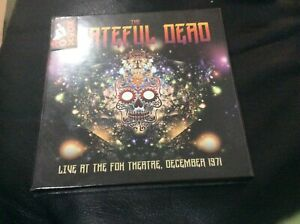 THE GRATEFUL DEAD LIVE AT THE FOX THEATRE 1971  3 CD BOX SET NEW AND SEALED F1