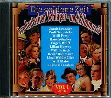 Doppel-CD - Die goldene Zeit der deutschen Schlager- und Filmmusik Vol. 1