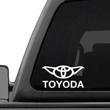 Toyota Toyoda Star Wars Yoda Car Truck Window Vinyl Decal Sticker 15 COLORS