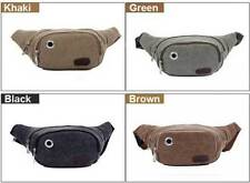 Canvas Bum Bag/Waist Pack Bags & Briefcases for Men with Adjustable Strap
