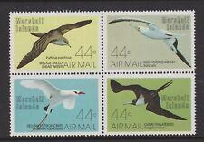 Marshall Islands - 1987, Air. Sea Birds set - Block of 4 - MNH - SG 103/6