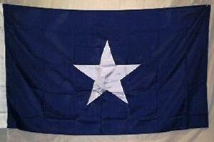 8x12 Embroidered Sewn Bonnie Blue 600D Nylon Flag 8'x12'