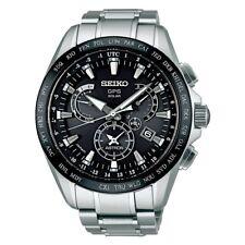 Seiko Astron SBXB045 GPS Solar Dia-Shield Titanium 100m Mens Watch F/S EMS