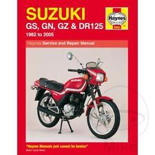 Suzuki GZ 125 Marauder 1998 Haynes Manual de reparación de servicio 0888