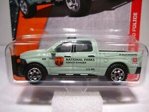 Matchbox '15 Ram 1500 Dodge 4x4 #61 National Parks Forest Ranger Police