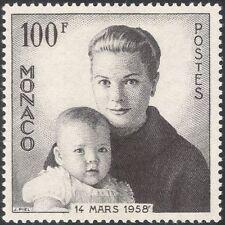 Mónaco 1959 Princesa Grace/princesa Caroline/Royal/realeza/personas 1 V (n43789)