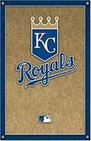 KANSAS CITY ROYALS ~ LOGO 22x34 POSTER MLB Baseball NEW/ROLLED