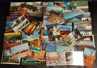 Post Cards 60 Vintage Unused Post Cards From Various Places New See Pix Free S&H