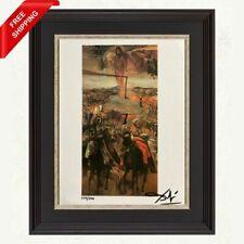 Salvador Dali - The Battle of Tetuan, Original Hand Signed Print with COA