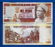 Guinea-Bissau P-13 1000 Pesos Year 1993 Uncirculated Banknote