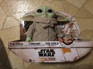 The Child Real Moves Plush by Mattel Star Wars: The Mandalorian Baby Yoda Grogu