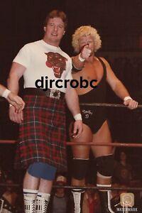 WWF Roddy Piper 11x17 Poster Rare Vintage 1984 WWE NWA DAVID SHULTZ Rowdy Piper