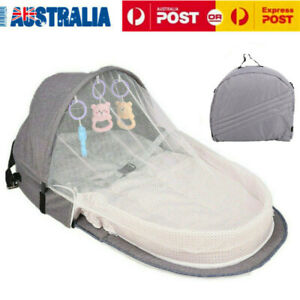 Portable Baby Infant Mosquito Nets Bed Cot Mattress Foldable Travel Home AU