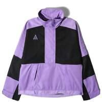 Women's Nike NikeLab ACG Half Zip Anorak Jacket Purple Black BQ3434-583 Winter