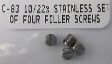 New Ruger Ss Scope Base Filler Screws 10-22, Charger mount rail picatinny weaver
