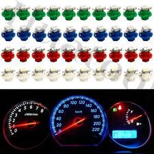 40Pcs B8.4D 1-SMD LED Car Instrument Panel Dashboard Gauge Lights Wedge Bulbs