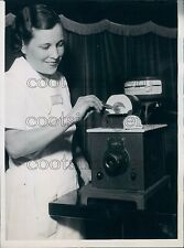 1936 1930s Dental Electric Furnace For Baking of Porcelain Press Photo