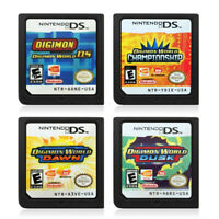 Digimon World DS,Dusk,Dawn & Championship Version Game Card for Nintendo 3DS Hot