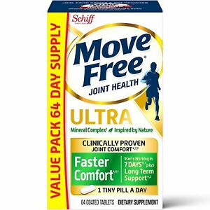 Schiff Move Free Joint Health Ultra Mineral Complex, 64 Tablets *EXP 02/2021*