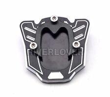 Motorcycle Black SideKickstandStandExtensionPlate For Honda NC700S/X 12-13