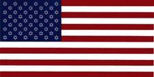 Wholesale Lot of 6 Jewish Star David Usa American Flag Decal Bumper Sticker