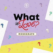 TWICE [WHAT IS LOVE?] MONOGRAPH 1DISC(DVD)+150p PhotoBook+9p Card K-POP SEALED