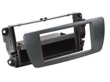 Radio Einbauset Auto 1 DIN Adapter Seat Ibiza 6J 6JN ab 08 azabacheschwarz