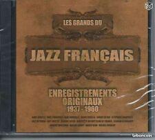 2 CD Les Grands du Jazz Français 1937-1960 NEUF sous cello