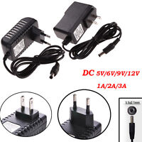 5.5mm*2.1mm AC100-240V to DC Power Supply Charger Adapter Converter Cord Cable