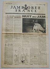 Jamborée France 6 - 21 Aout 1947 ; Journal N° 9 du 14 Août  Scouts P JOUBERT