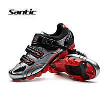 Santic MTB Men Cycling Shoes Bike Bicycle Non-slip Breathable Shoese Euipment