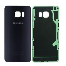 Coque Arriere / Cache Batterie Samsung Galaxy S 6 - Noir - Adhesif Inclus