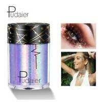 Waterproof Glitter Eye Shadow Shimmer Loose Eyes Pigment Powder Makeup Eyeshadow