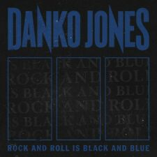 DANKO JONES - ROCK AND ROLL IS BLACK AND BLUE (BLUE VERSION)  VINYL LP NEW+
