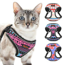 Large Cat Walking Jacket Harness Breathable Mesh Pet Dog Vest Reflective XS-L