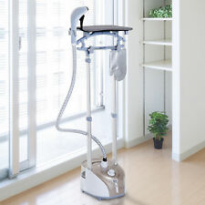 2L Full-Size Garment Steamer Professional Clothes Fabric Iron w/ Ironing Board
